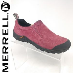 Womens Merrell Jungle Moc Touch Suede Hiking shoes